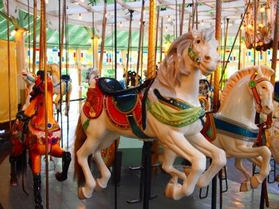 Crescent Park Looff Carousel image. Click for full size.