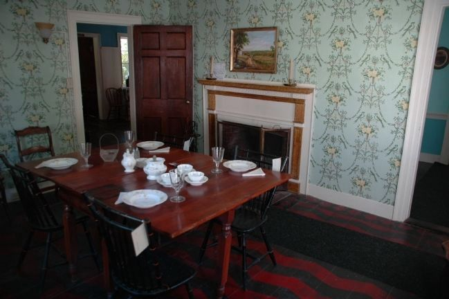 Rice Homestead Dining Room image. Click for full size.