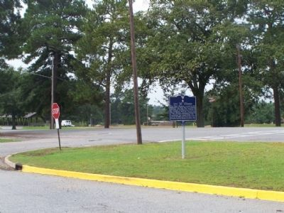 31st Inf Division Marker at intersection of Jackson Blvd and Forney Road image. Click for full size.