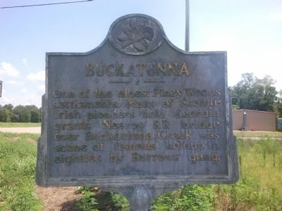 Buckatunna Marker image. Click for full size.
