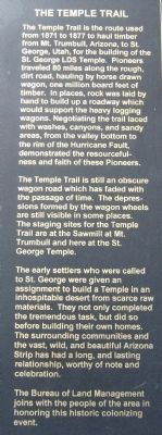 The Temple Marker text image. Click for full size.