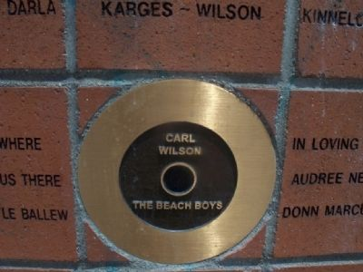 Site of the Childhood Home of the Beach Boys Marker image. Click for full size.