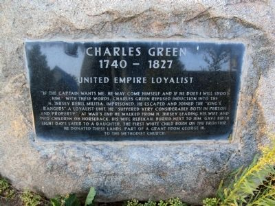 Charles Green Marker image. Click for full size.