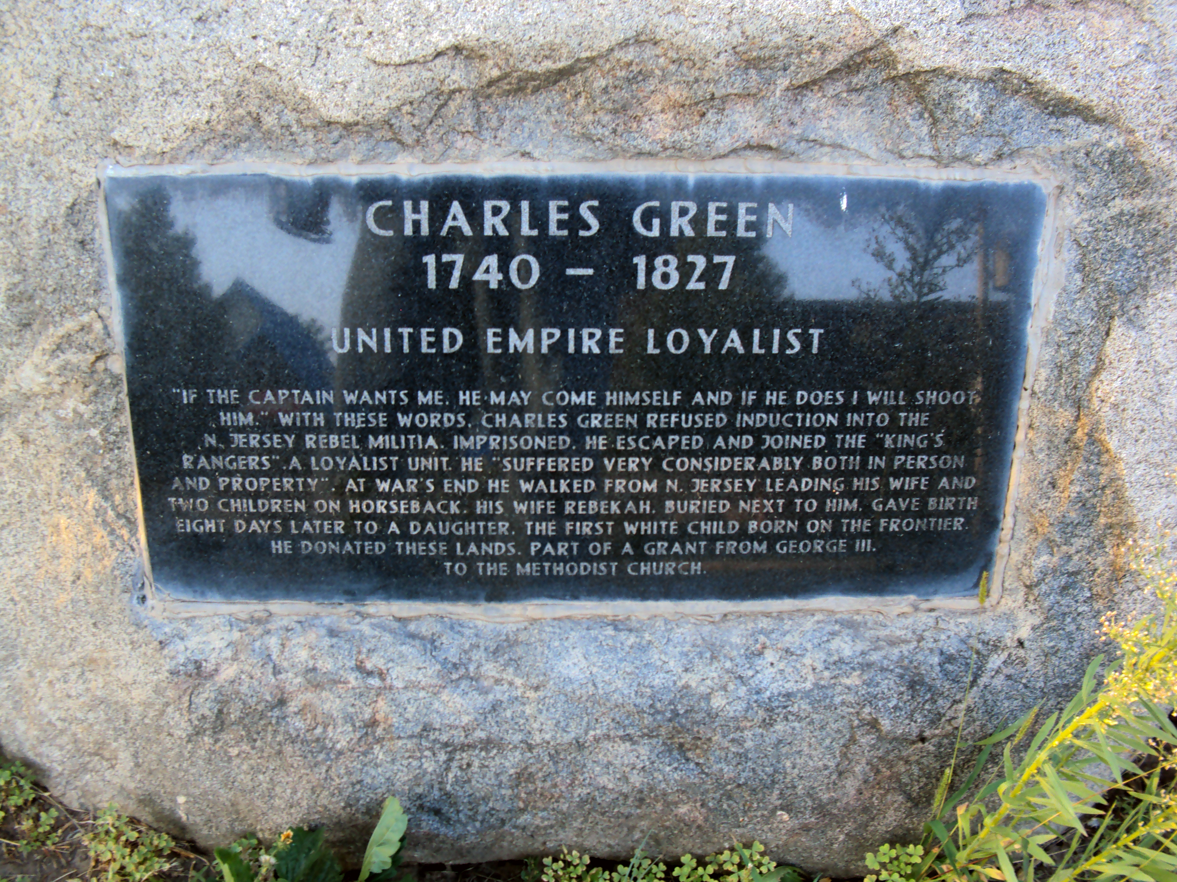 Charles Green Marker