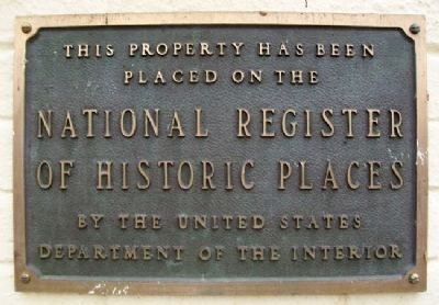 First Presbyterian Church NRHP Marker image. Click for full size.
