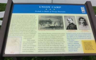 Union Camp Marker image. Click for full size.