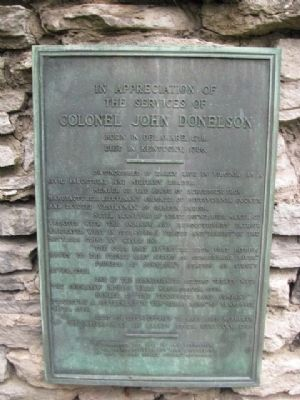 Colonel John Donelson Marker image. Click for full size.