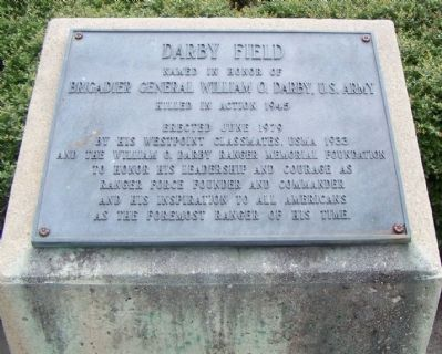 Darby Field Marker image. Click for full size.