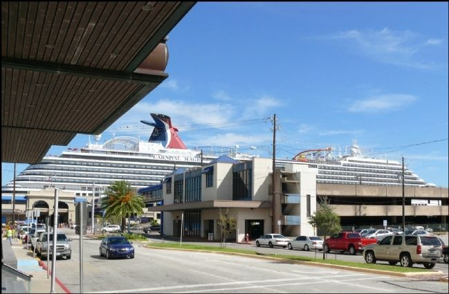 Cruse Ships Dock Near This Train Station image. Click for full size.