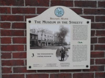 The Windsor Hotel Marker image. Click for full size.