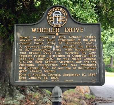 Wheeler Drive Marker image. Click for full size.
