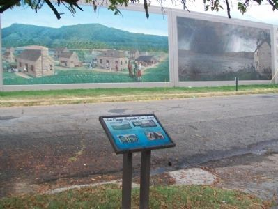 Scioto County, Experience Our Heritage Marker & Murals image. Click for full size.