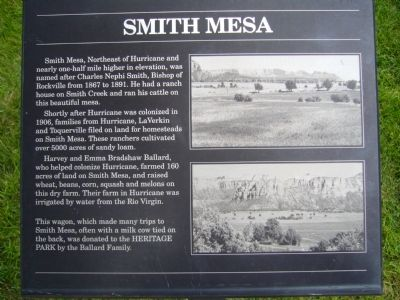 Smith Mesa Marker image. Click for full size.
