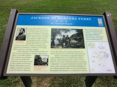 Jackson at Harpers Ferry Marker image. Click for full size.