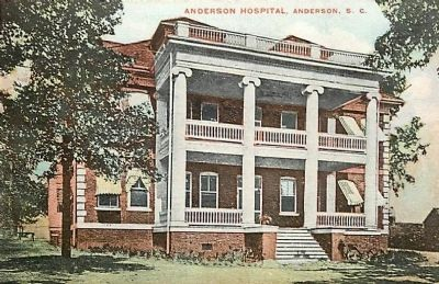 Anderson Hospital<br>Historic Postcard image. Click for full size.