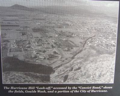 <i>Photo on</i> Convict Camp and Wagon Road Marker image. Click for full size.
