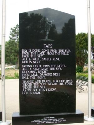 Veterans Memorial Taps image. Click for full size.