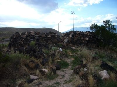 Historic Rock Fort and Corral image. Click for full size.