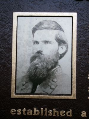 General Daniel Harris Reynolds, C.S.A. Marker image. Click for full size.