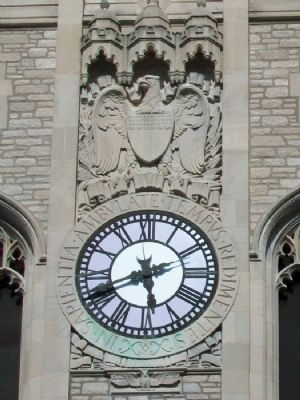 Memorial Union Tower Clock image. Click for full size.