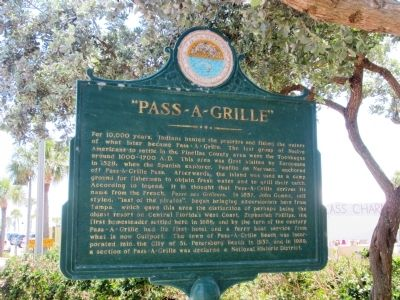 PASS~A~GRILLE Marker image. Click for full size.