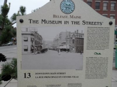 Downtown Main Street Marker image. Click for full size.