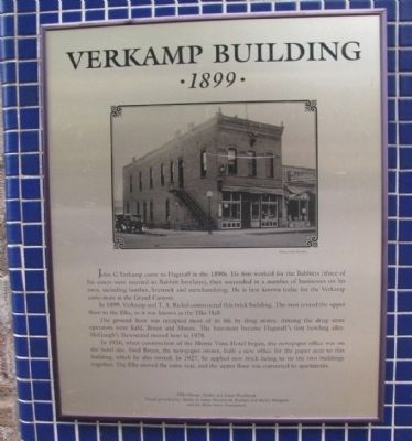 Verkamp Building Marker image. Click for full size.