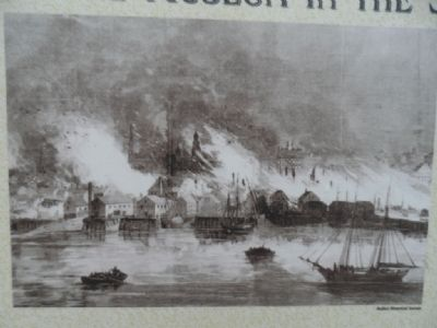 The Great Conflagration Marker image. Click for full size.