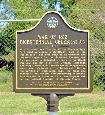 War of 1812 Bicentennial Celebration Marker image. Click for full size.