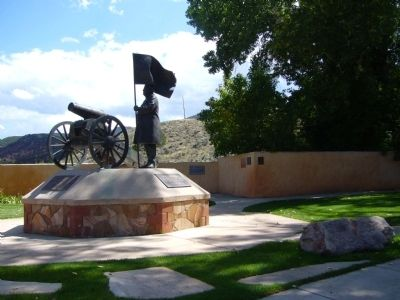 Parowan Heritage Park Markers image. Click for full size.
