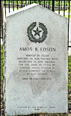 Amos B. Edson Marker image. Click for full size.
