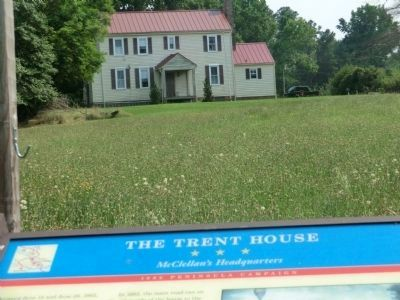 The Trent House Marker image. Click for full size.