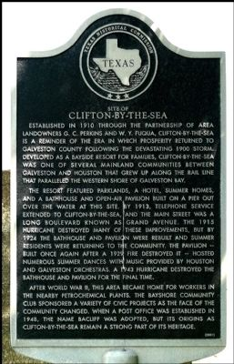 Clifton-By-The-Sea Marker image. Click for full size.