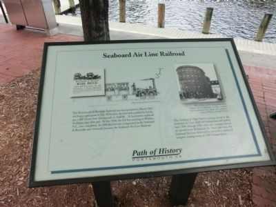 Seaboard Air Line Railroad Marker image. Click for full size.