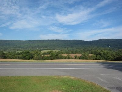 Solomon's Gap and Pleasant Valley image. Click for full size.