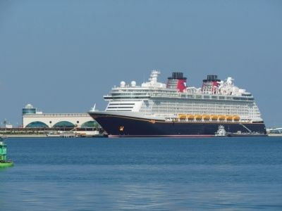 Disney Dream at Terminal 8 image. Click for full size.