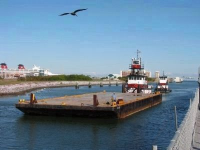 Canaveral Barge Canal image. Click for full size.