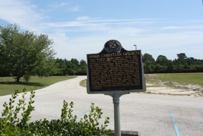 Union Christian Church Marker image. Click for full size.