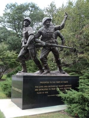 American Soldier Statue image. Click for full size.