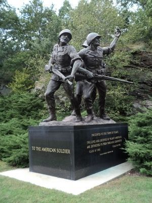Monument at the US Military Academy image. Click for full size.