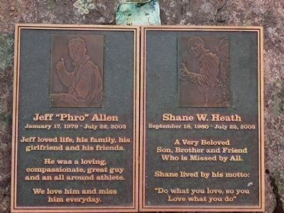 In memory of Jeff Allen and Shane Heath image. Click for full size.