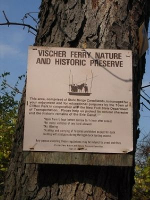 Vischer Ferry Nature and Historic Preserve image. Click for full size.