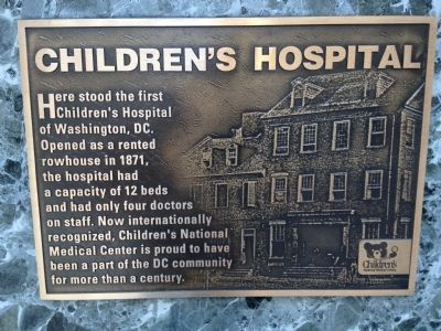 Children's Hospital Marker image. Click for full size.