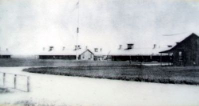 Parade Ground Photo on Marker image. Click for full size.