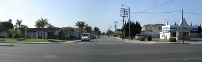 Panorama of Talbert Ave. and S. Third St. image. Click for full size.