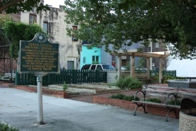 Urban Center Historic District Marker image. Click for full size.