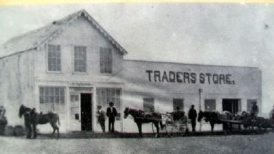 Post Trader's Store Photo on Marker image. Click for full size.