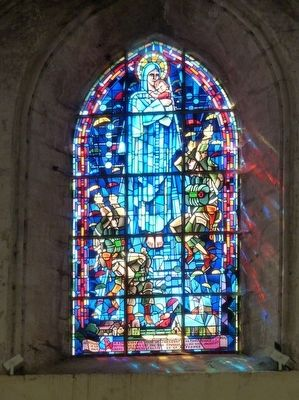 Stained-Glass Window of Church image. Click for full size.