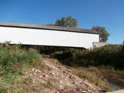 Looking North/East - - Under the Covered Bridge image. Click for full size.