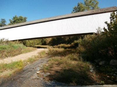 Looking North - - Under the Covered Bridge image. Click for full size.